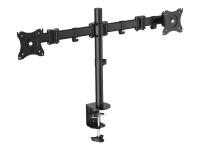 BP0022 Flachbildschirm-Tischhalterung 68,6 cm (27 Zoll) Klemme /Bolzen Schwarz