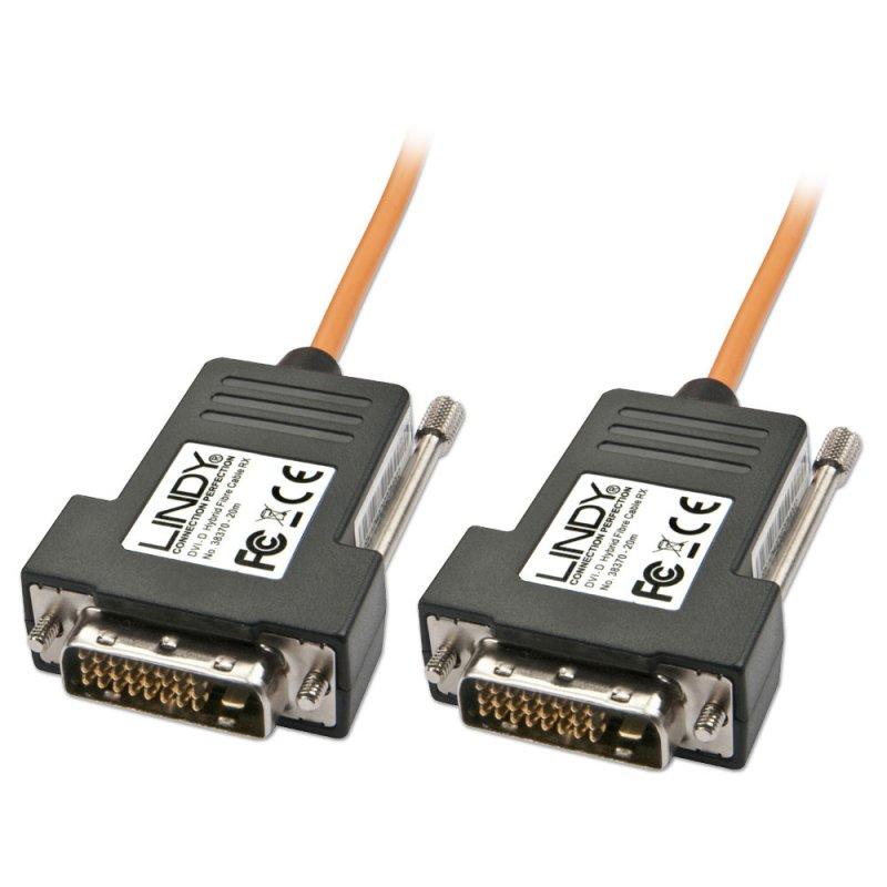 Lindy DVI-Kabel - Single Link - DVI-D (M)