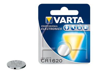 Varta Electronics - Batterie CR1620 - Li - 70