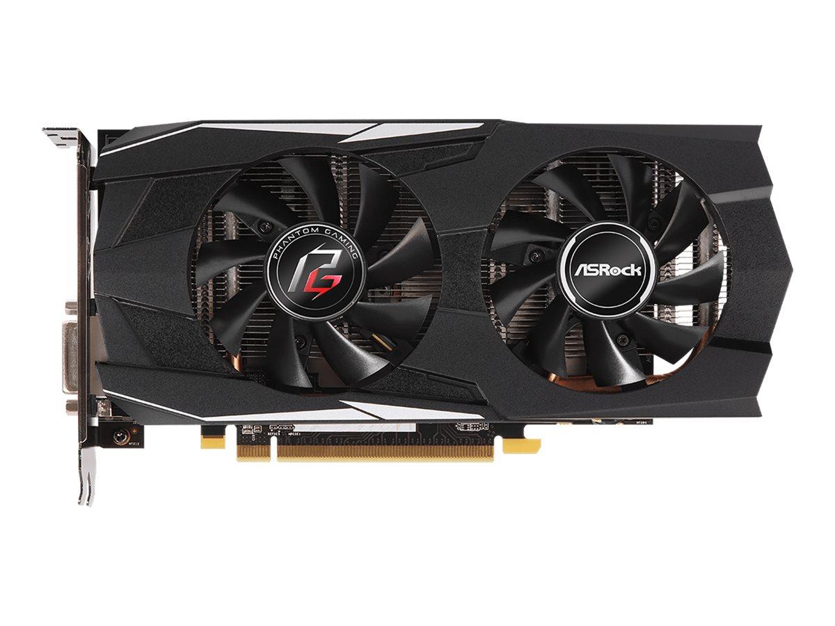 ASRock Phantom Gaming D Radeon RX570 8G OC - Grafikkarten
