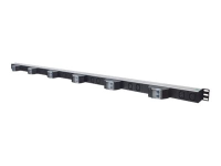 163668 Stromverteilereinheit (PDU) Schwarz - Silber 12 AC-Ausgänge