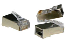 Lindy RJ45 Stecker STP Cat.5e 10er Pack - Zubehör PC