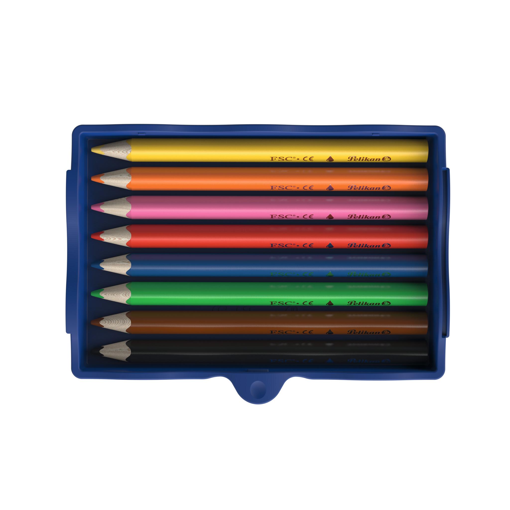 Pelikan 700894 - Kreativfabrik - Buntstifte - 8 Stück