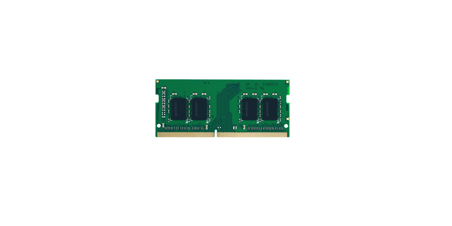 GoodRam SO DDR4 16GB PC 2666 CL19 am Single Rank retail - 16 GB - 2.666 MHz