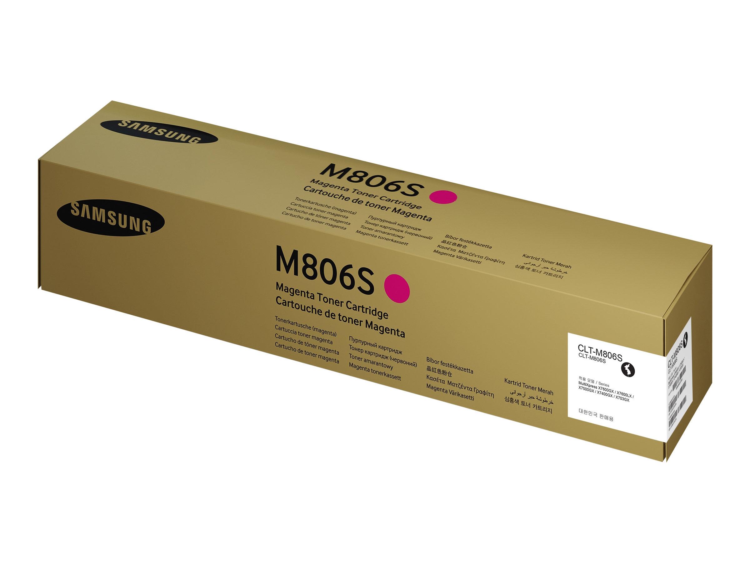 Samsung CLT-M806S - Magenta - Original - Tonerpatrone (SS635A)