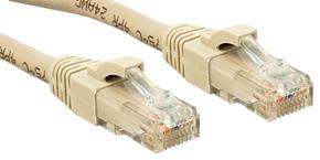 Lindy Cat.6 UTP Premium Patchkabel halogenfrei grau - Kabel