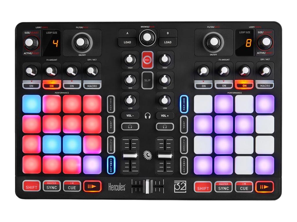 Hercules P32 DJ - DJ-Regler - 4-Kanal