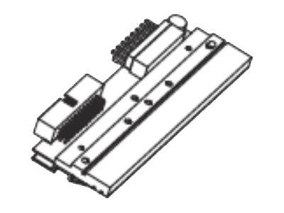 Zebra 1 - 300 dpi - Druckkopf - für Zebra ZE500-4