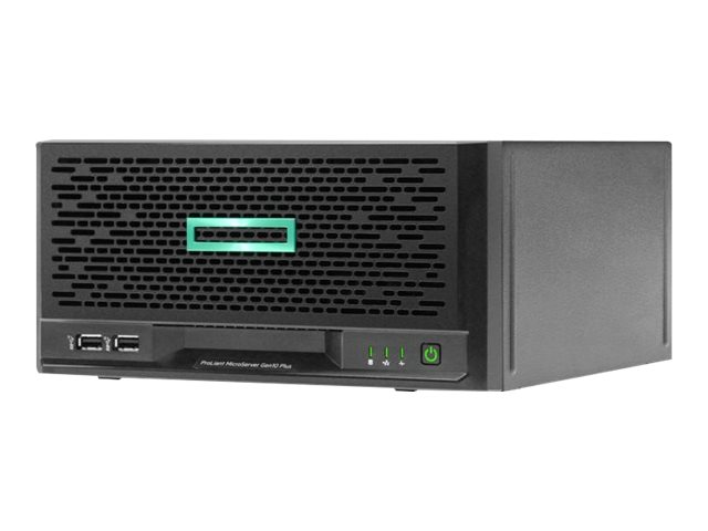 "HP Enterprise ProLiant MicroServer Gen10 Plus Performance - Server - Ultra-Micro-Tower - 1-Weg - 1 x Xeon E-2224 / 3.4 GHz - RAM 16 GB - SATA - nicht Hot-Swap-fähig 8.9 cm (3.5"")"