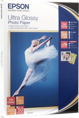 Epson Ultra Glossy Photo Paper - Fotopapier, glänzend - 130 x 180 mm