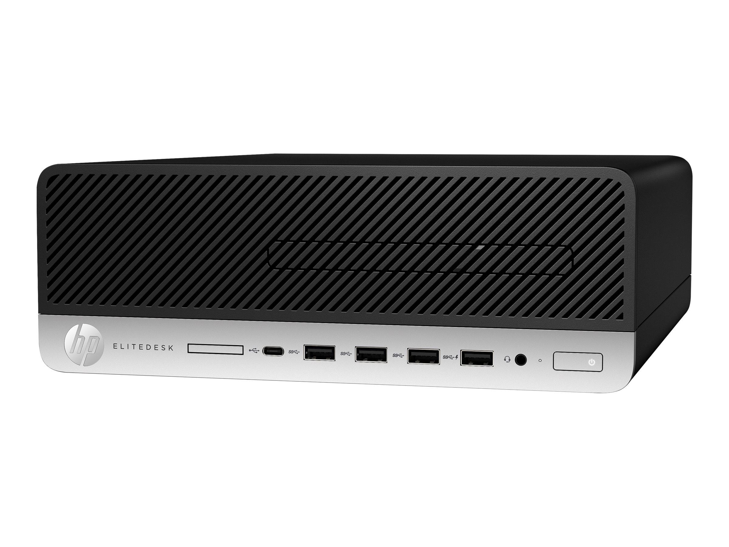 HP EliteDesk 705 G5 - SFF - Ryzen 5 Pro 3400G / 3.7 GHz