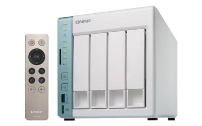 QNAP TS-451A - NAS-Server - 4 Schächte