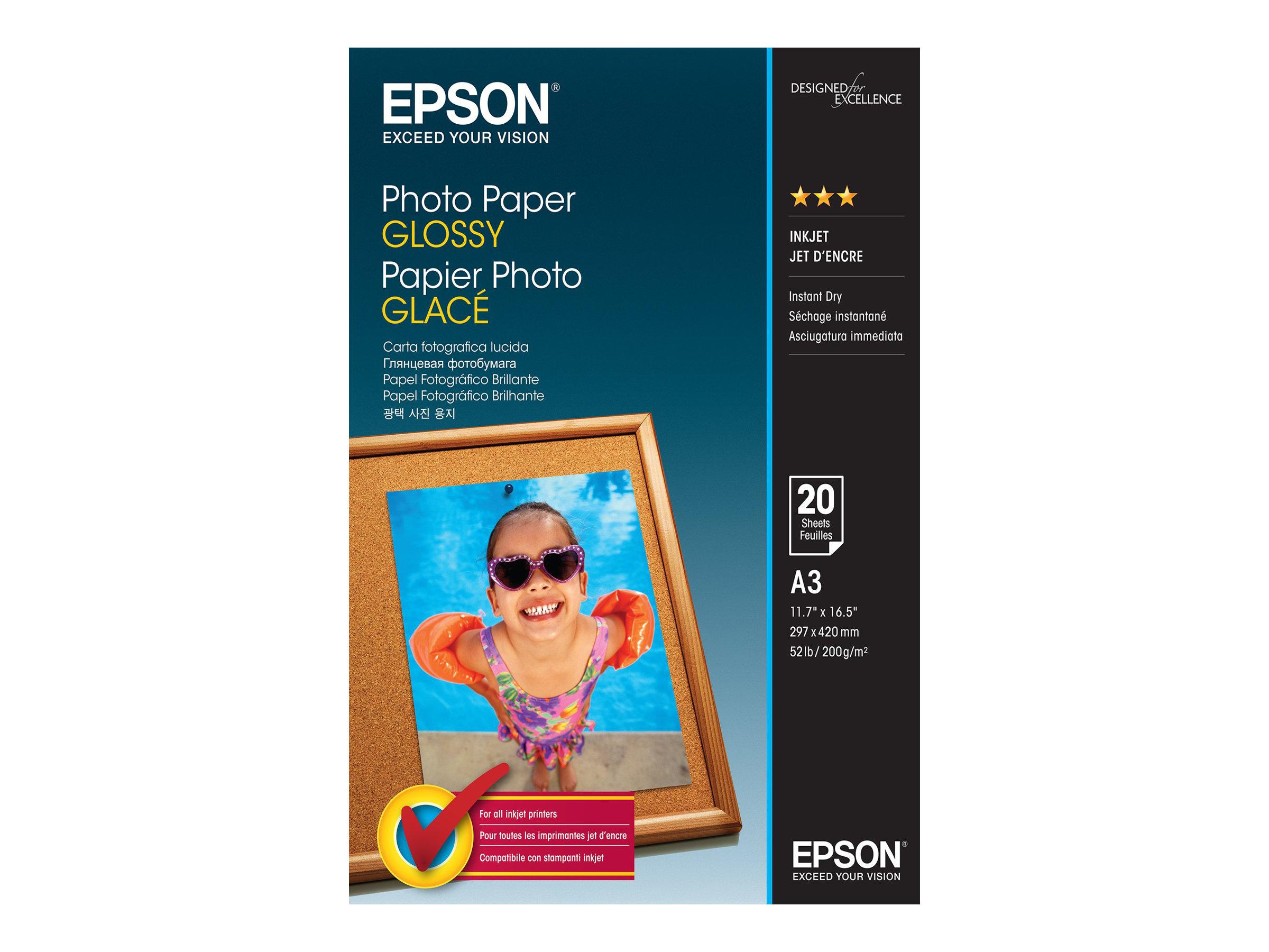 Epson Glänzend - A3 (297 x 420 mm) - 200 g/m²