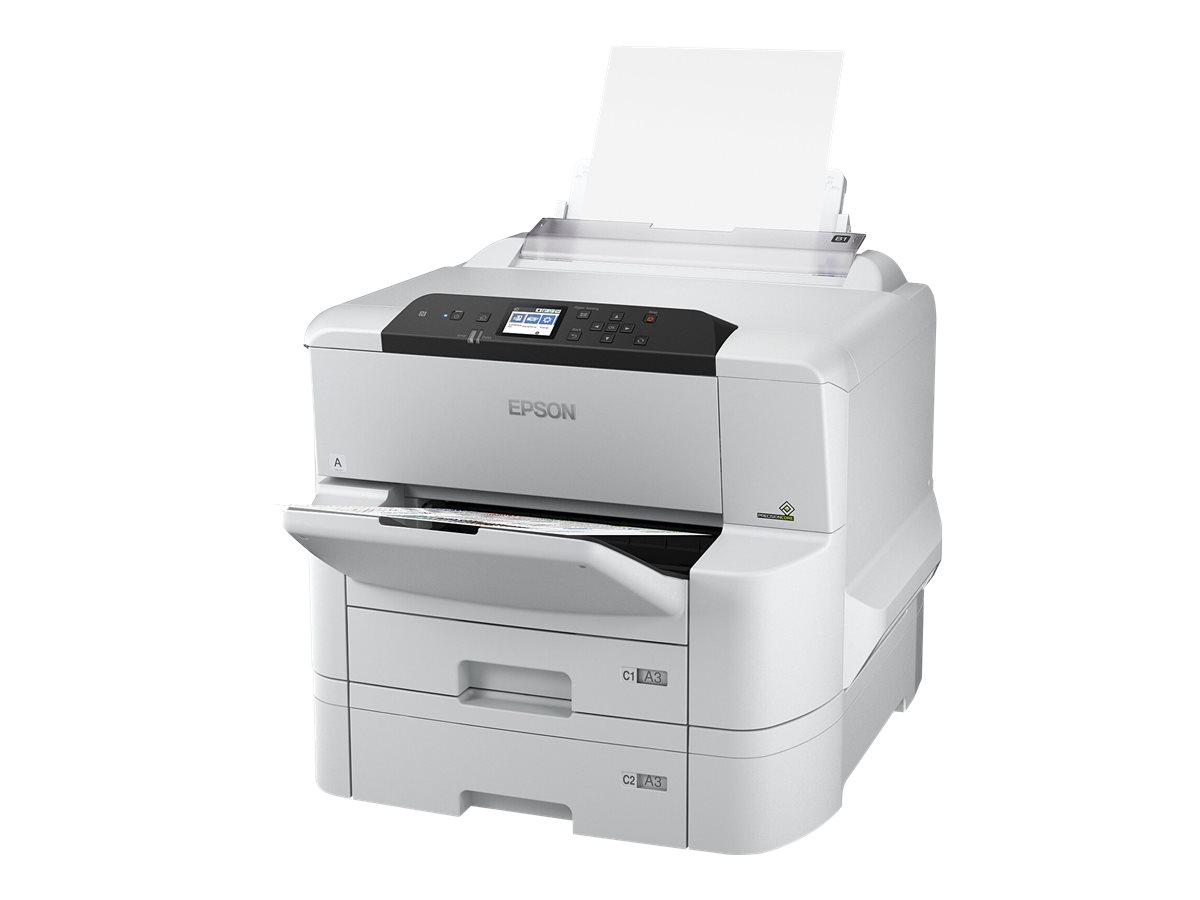 Epson WorkForce Pro WF-C8190DTW - Drucker - Farbe - Duplex - Tintenstrahl - A3 - 4800 x 1200 dpi - bis zu 35 Seiten/Min. (einfarbig)/