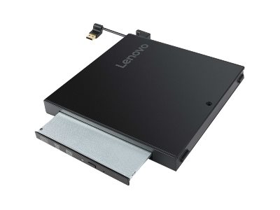 Lenovo Tiny IV DVD Burner Kit - Laufwerk - DVD-Writer - USB - extern - für ThinkCentre M710q  M715q (2nd Gen)