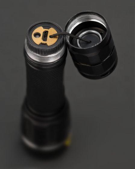 Brennenstuhl 1178600800 - Taster-Taschenlampe - Schwarz - Tasten - IP67 - 1 Lampen - 1250 lm