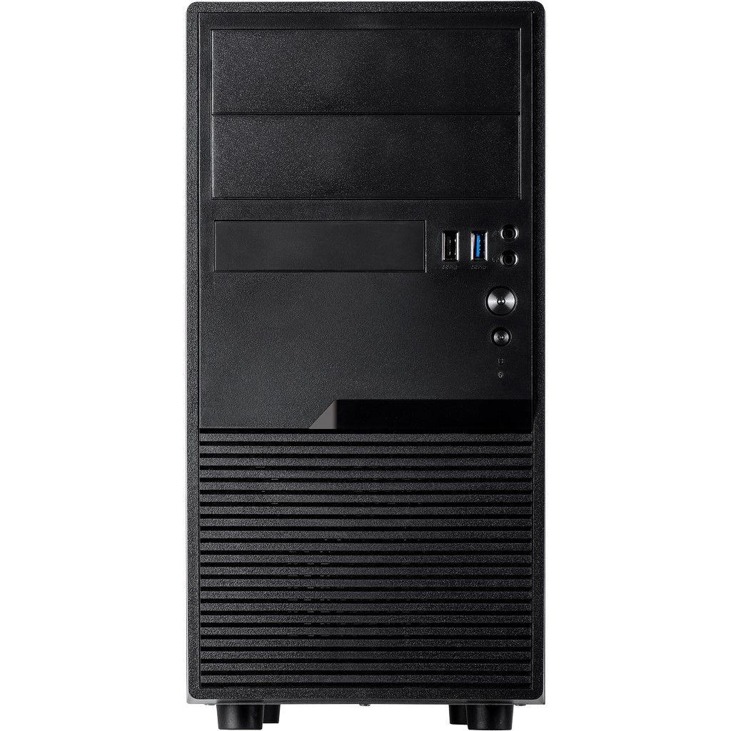 Inter-Tech IT-180 Office - Tower - micro ATX