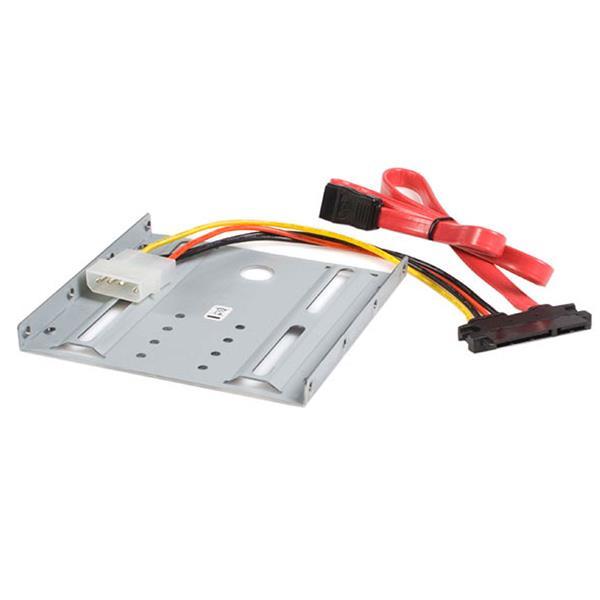 StarTech.com Adapter Bracket für 2,5 auf 3,5 HDD - SATA Festplatten Einbaurahmen
