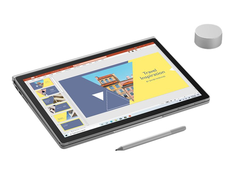 "Microsoft Surface Book 3 - Tablet - mit Tastatur-Dock - Core i7 1065G7 / 1.3 GHz - Win 10 Pro - 32 GB RAM - 512 GB SSD - 34.3 cm (13.5"")"