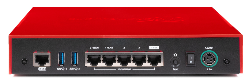 WatchGuard Firebox T40-W - 3400 Mbit/s - 3,4 Gbit/s - 1 Gbit/s - 880 Mbit/s - 272 Mbit/s - 0,88 Gbit/s