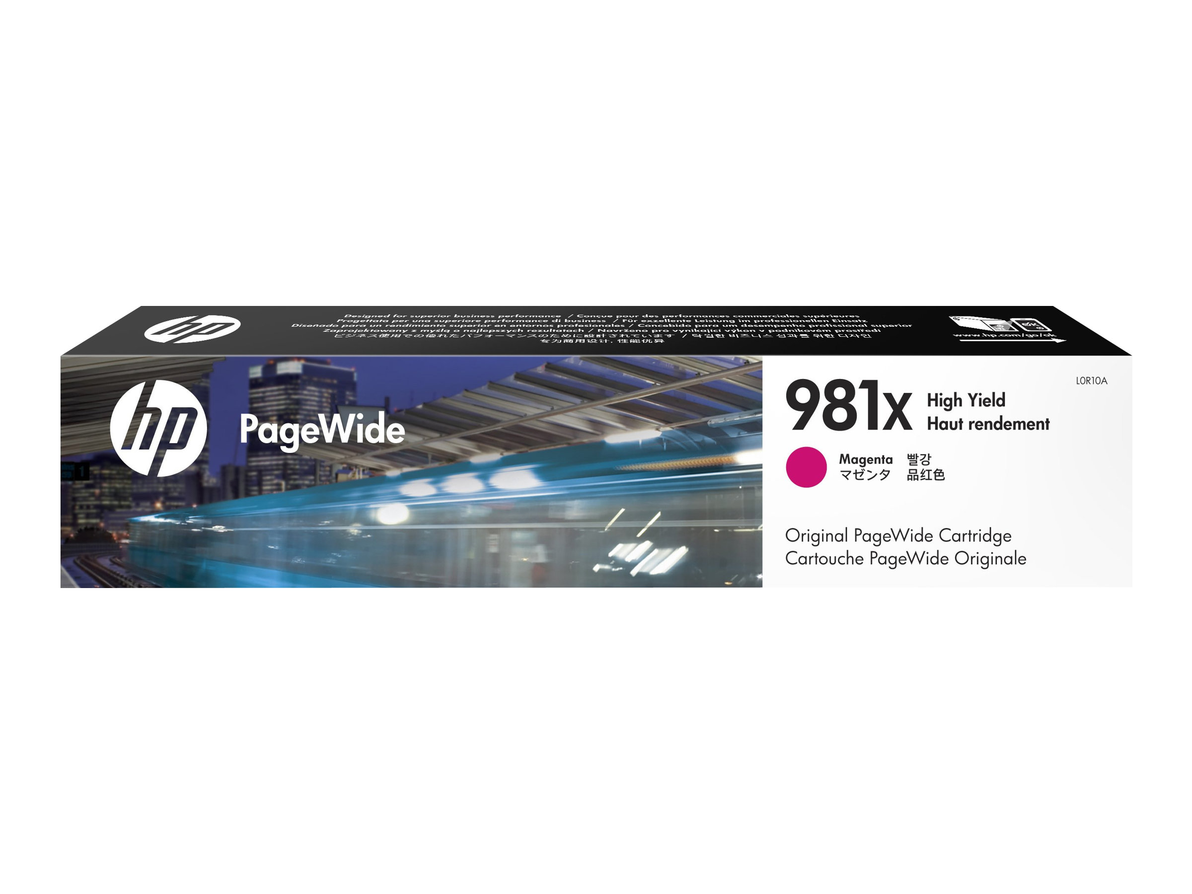 HP Tinte magenta Nr. 981X (L0R10A) ca. 10.000 Seiten