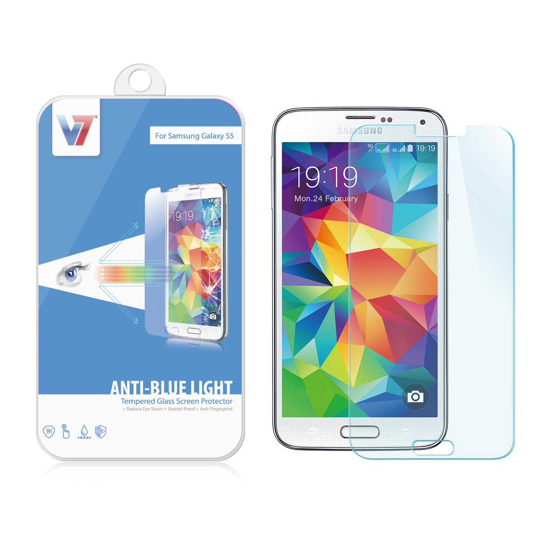 V7 Bildschirmschutz - für Samsung GALAXY S5