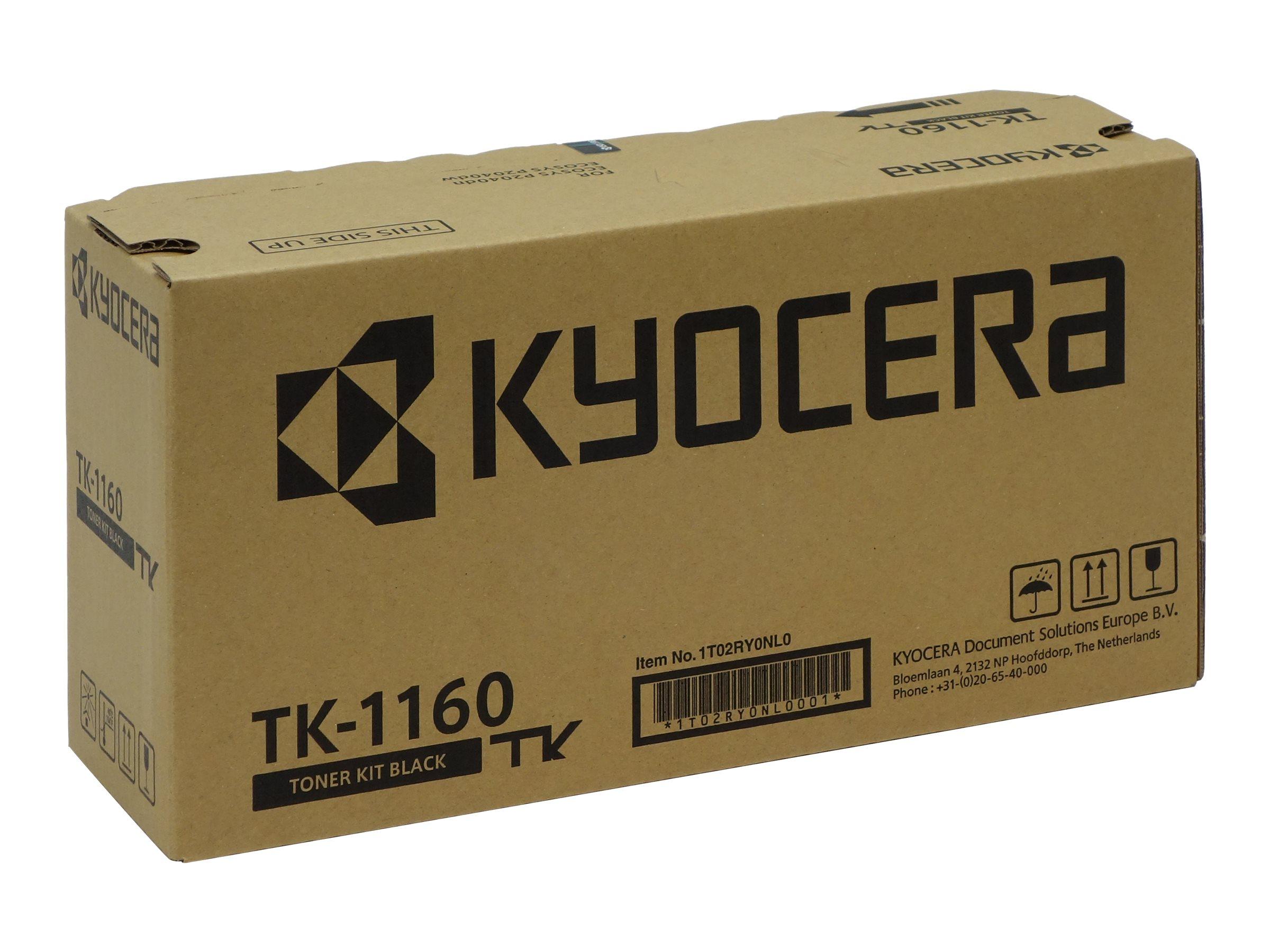 Kyocera 1T02RY0NL0 Lasertoner 7200Seiten Schwarz Lasertoner / Patrone