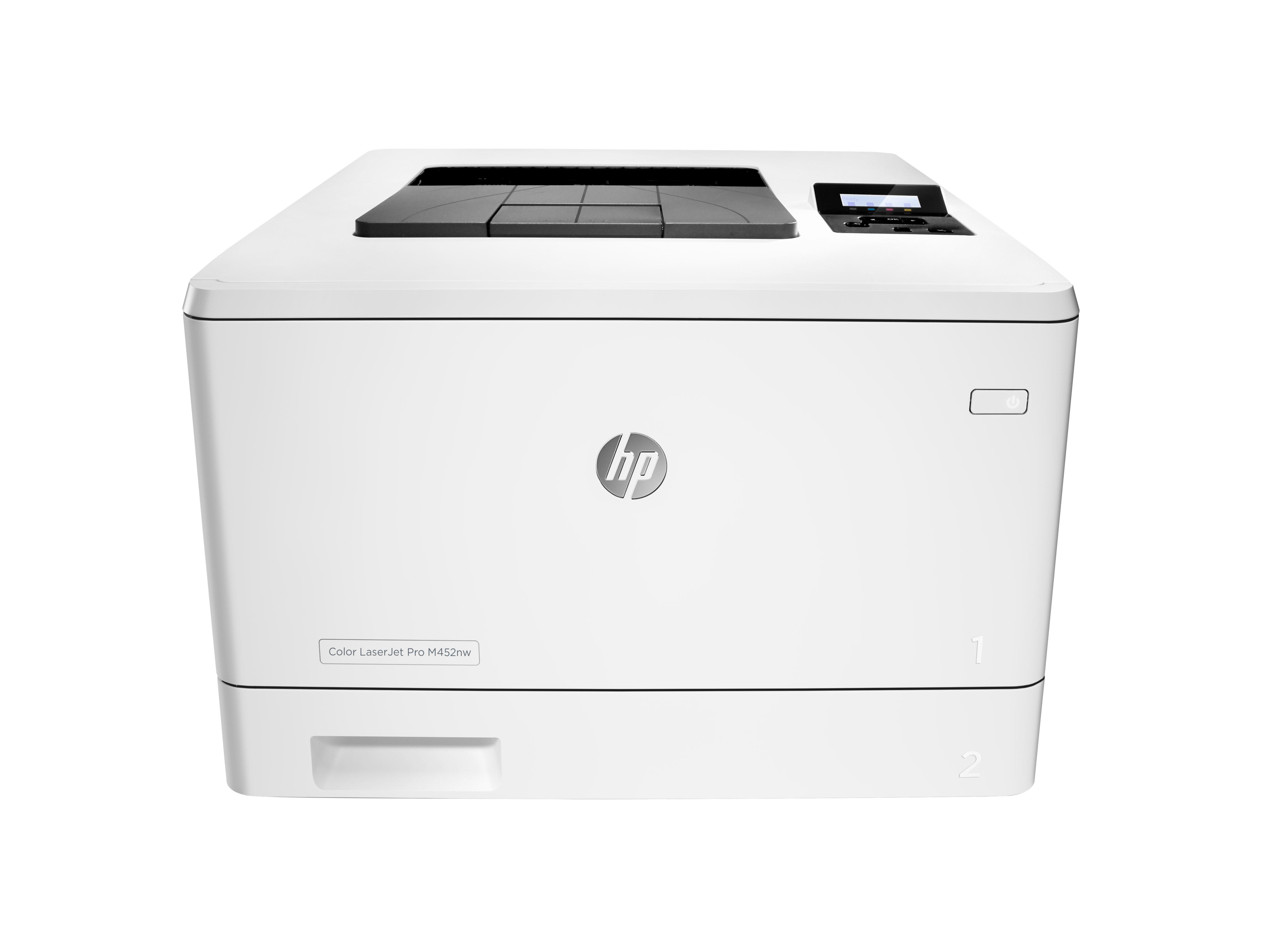 HP Color LaserJet Pro M452nw, Farblaser, A4