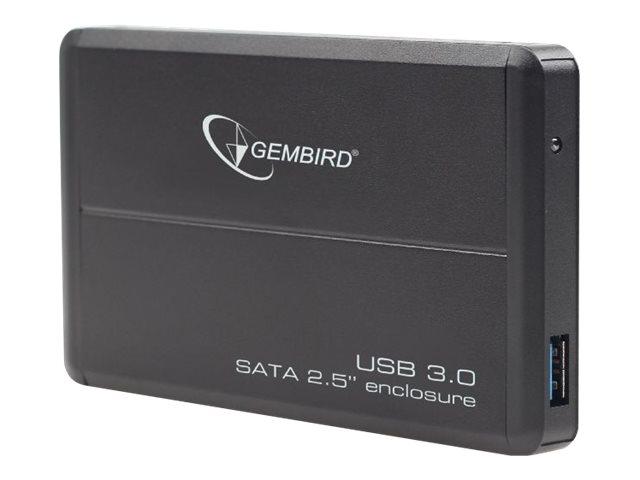 """Gembird EE2-U3S-2 - Speichergehäuse - 2.5"""" (6.4 cm)"""