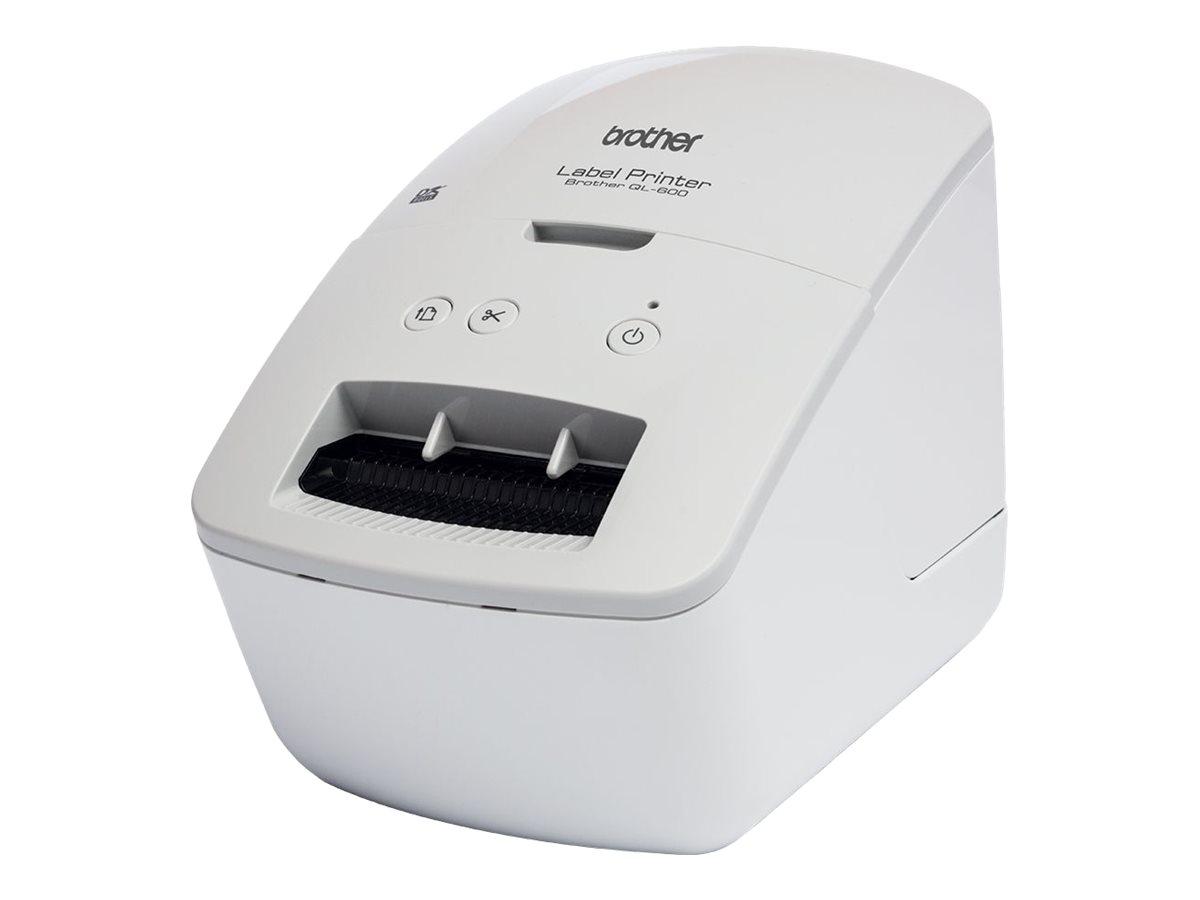 Brother QL-600G - Etikettendrucker - Thermopapier - Rolle (6,2 cm)