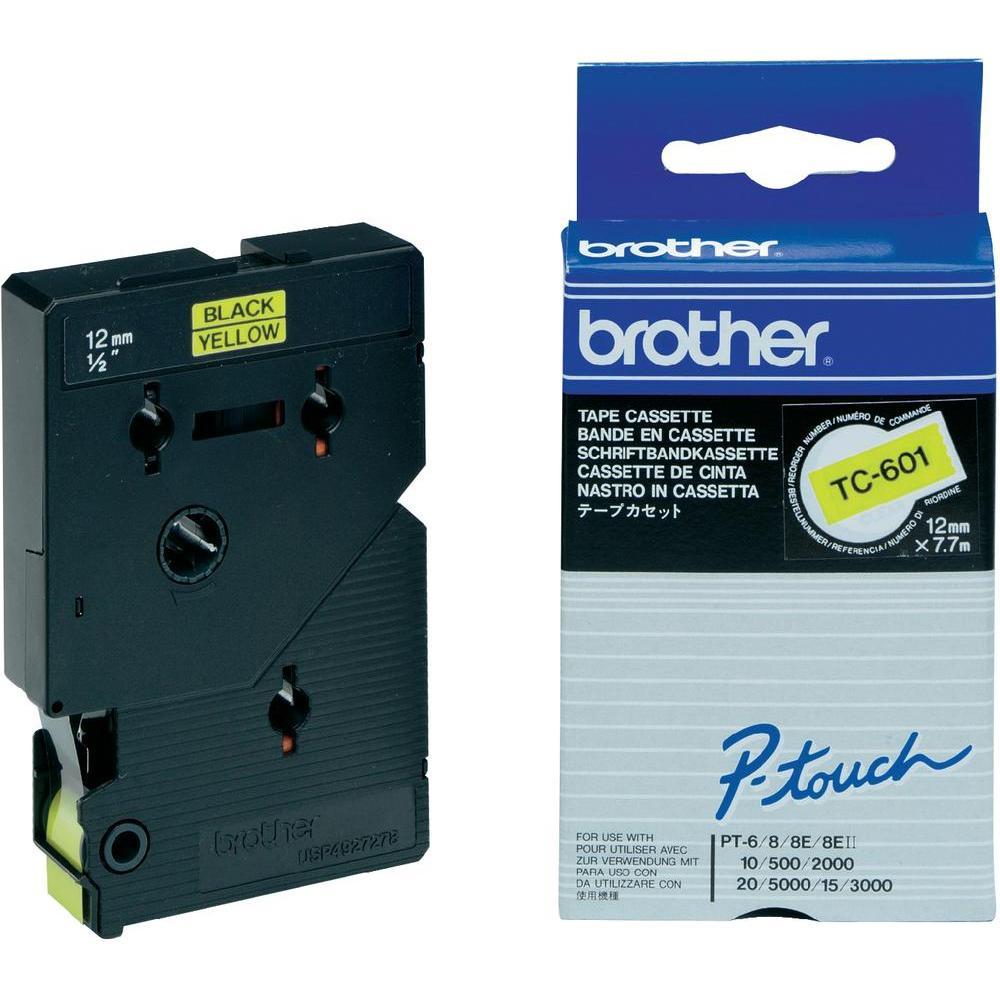 Brother Schriftband 12mm Etiketten / Beschriftungsbänder