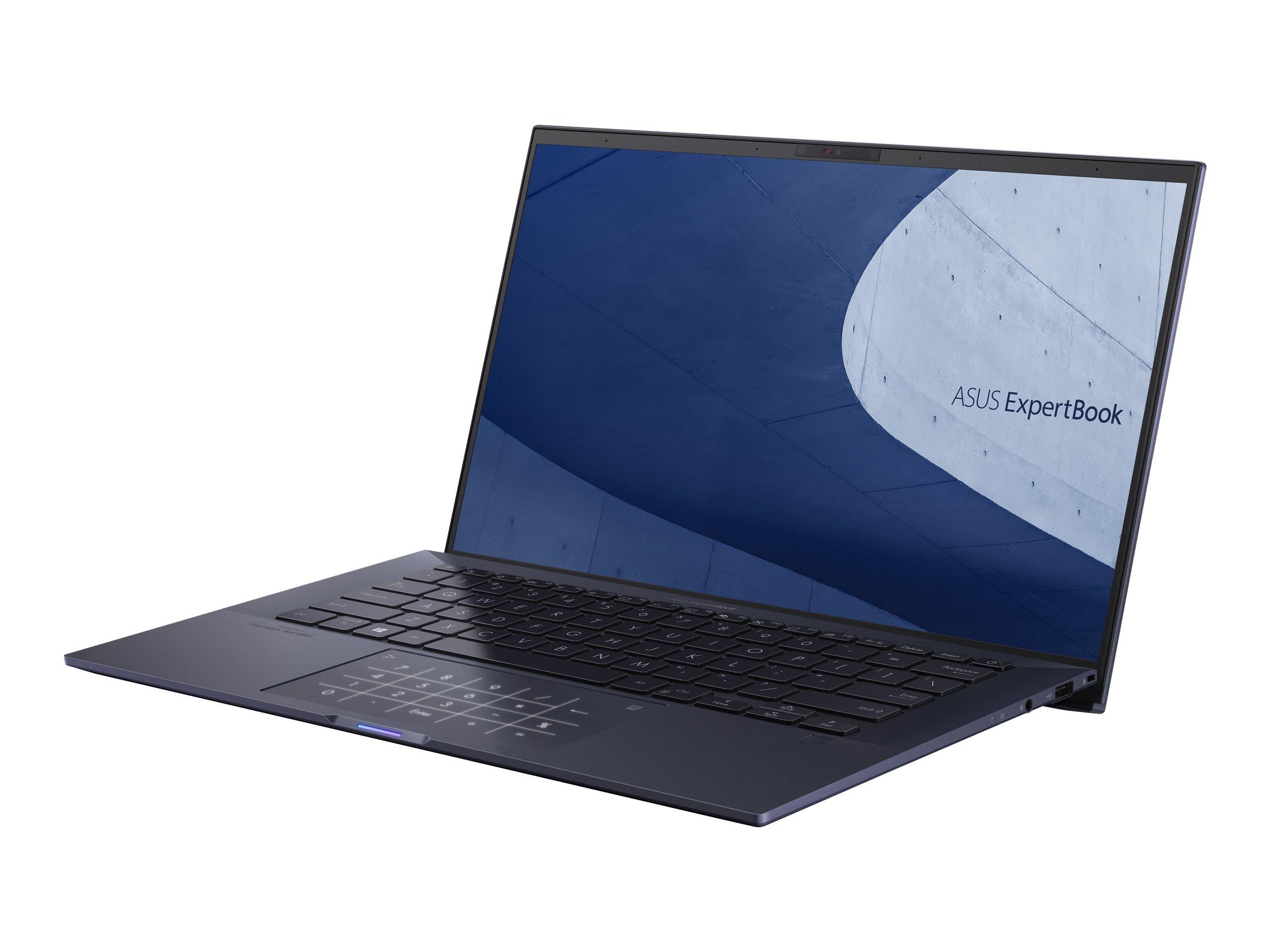 "ASUS ExpertBook B9450FA BM0483R - Core i7 10610U / 1.8 GHz - Win 10 Pro 64-Bit - 16 GB RAM - 1 TB SSD NVMe - 35.6 cm (14"")"