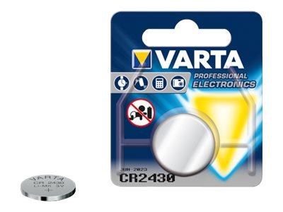 Varta Electronics - Batterie CR2430 - Li - 280