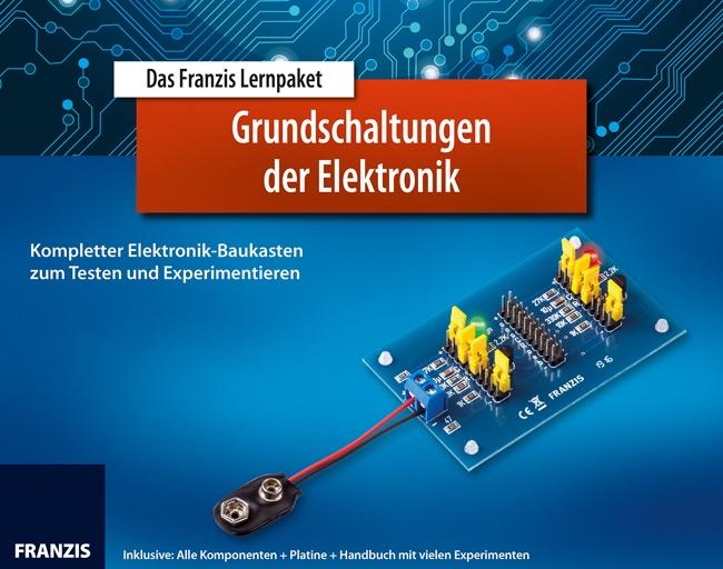 Franzis Verlag Das Franzis Lernpaket Grundschaltungen der Elektronik - Experimentier-Set