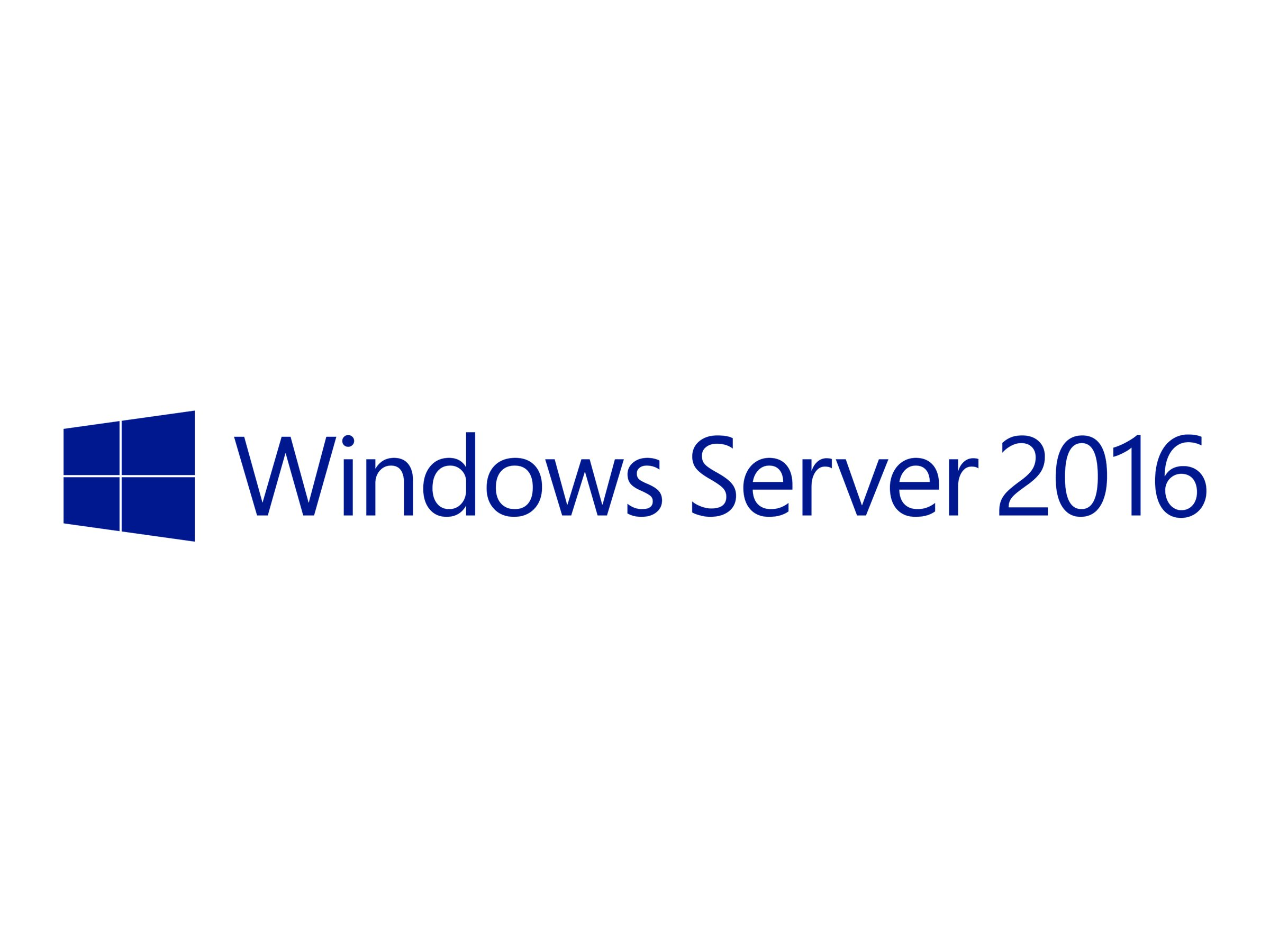 Microsoft Windows Server 2016 Standard ROK (HP) - Lizenz - 16 Kerne - OEM - DVD - 64-bit - Multilingual