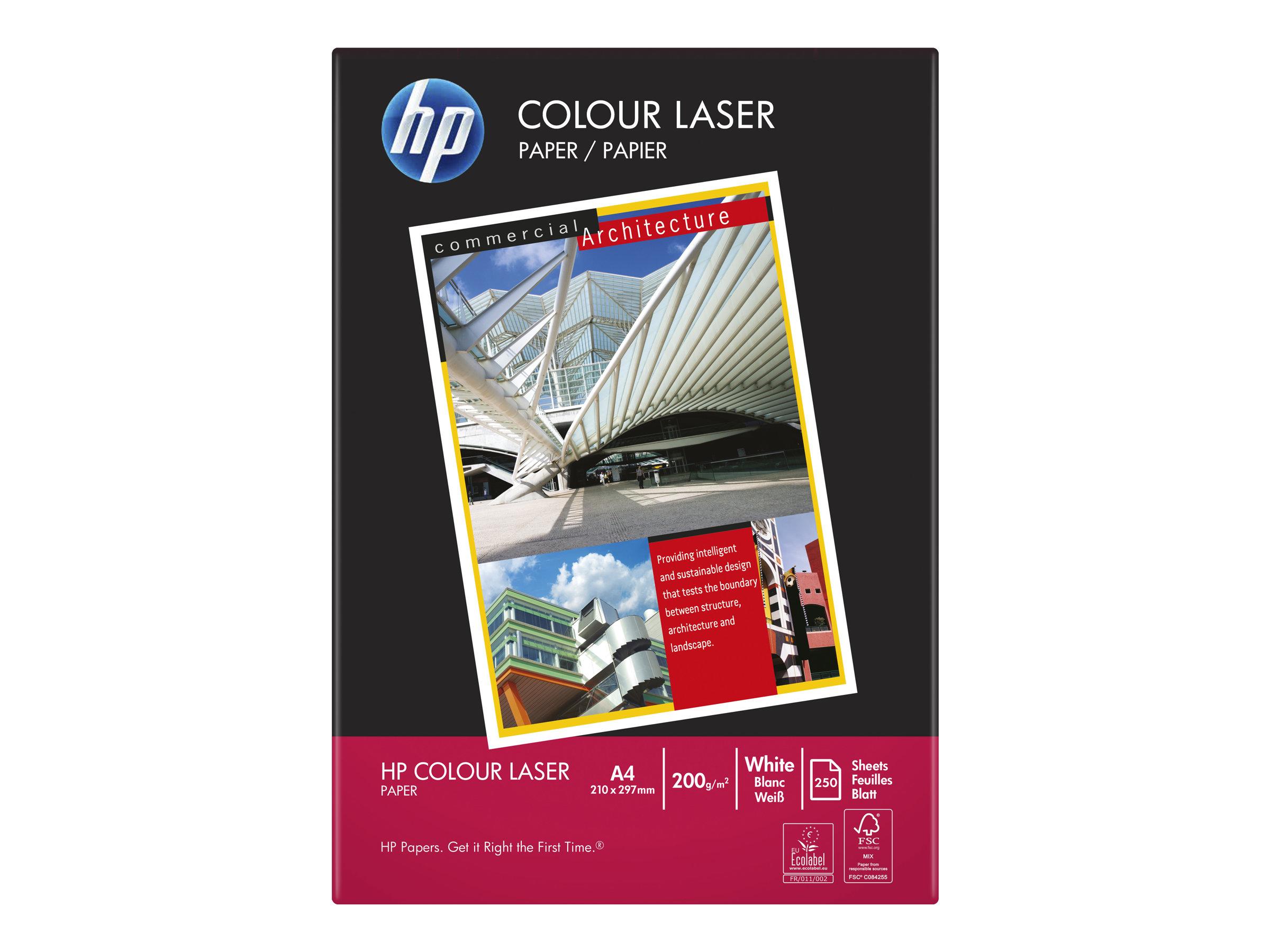 HP Colour Laser Paper - A4 (210 x 297 mm)