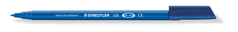 STAEDTLER 326 - Blau - 1 mm - Polypropylen (PP) - Tinte auf Wasserbasis