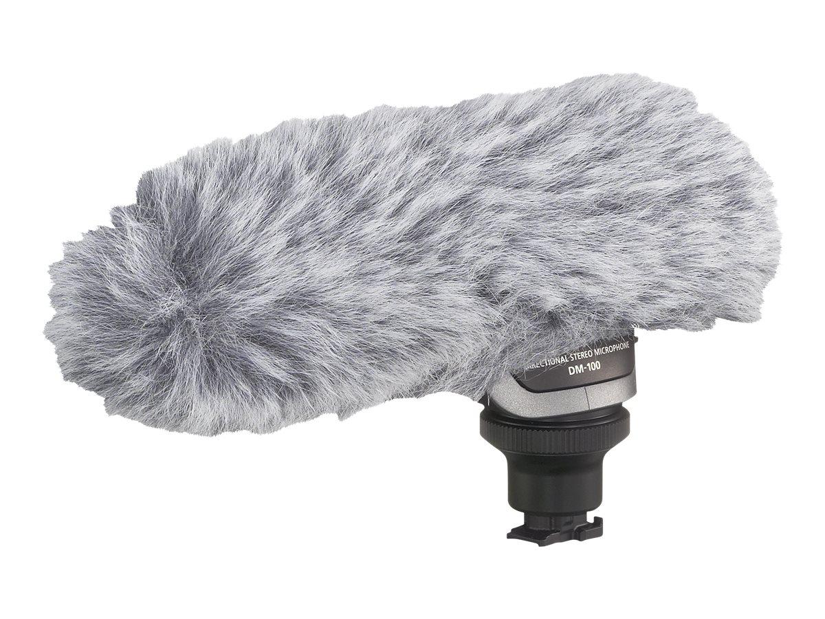 Canon DM-100 - Mikrofon - für iVIS HF G20, HF S10; LEGRIA HF G25, HF M506, HF M52, HF M56; VIXIA HF G20, HF G40, HF M301