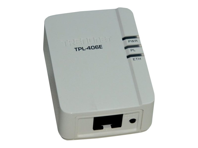 TRENDnet TPL-406E2K - Bridge - HomePlug AV (HPAV)