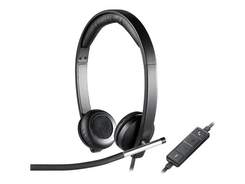 Logitech H650e - USB Headset Stereo - On-Ear - kabelgebunden
