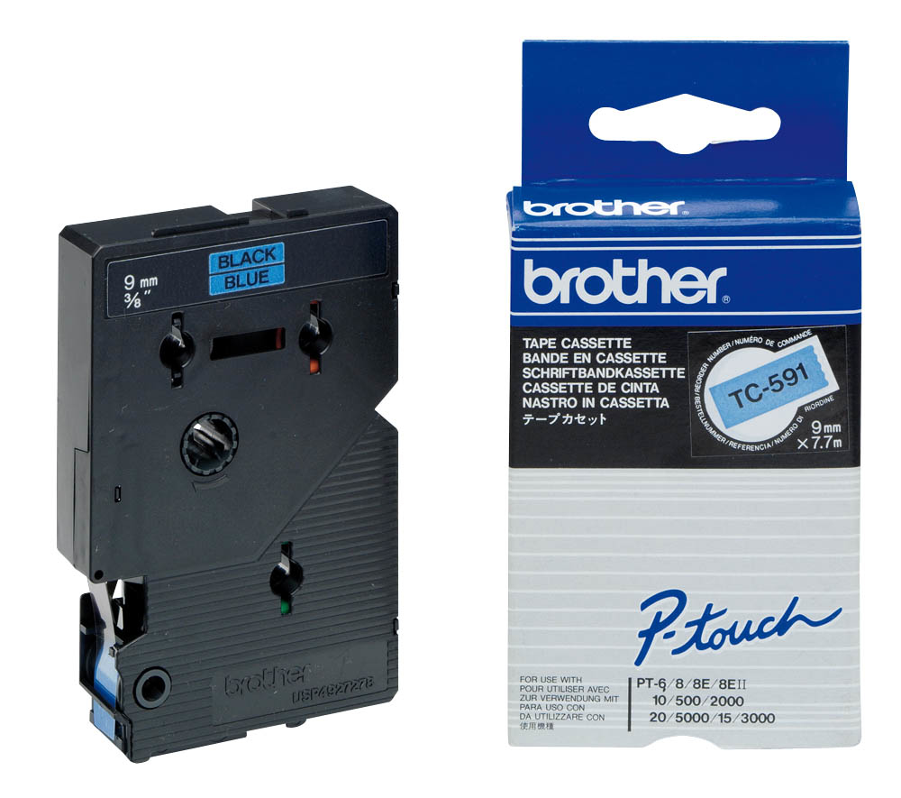 Brother TC TC591 Etiketten / Beschriftungsbänder