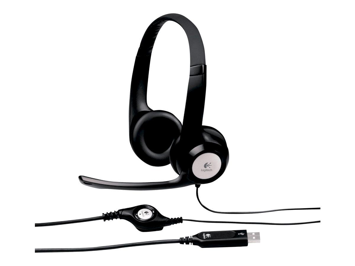 Logitech ClearChat Comfort USB - Headset - ohrumschließend