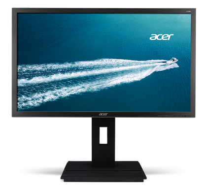 Acer Professional B246HYLA - 60,5 cm (23.8 Zoll) - 1920 x 1080 Pixel - Full HD - LED - 6 ms - Grau