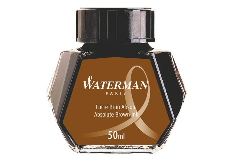 WATERMAN S0110830 - Braun - Schwarz - Transparent - Füllfederhalter - 50 ml - 1 Stück(e)