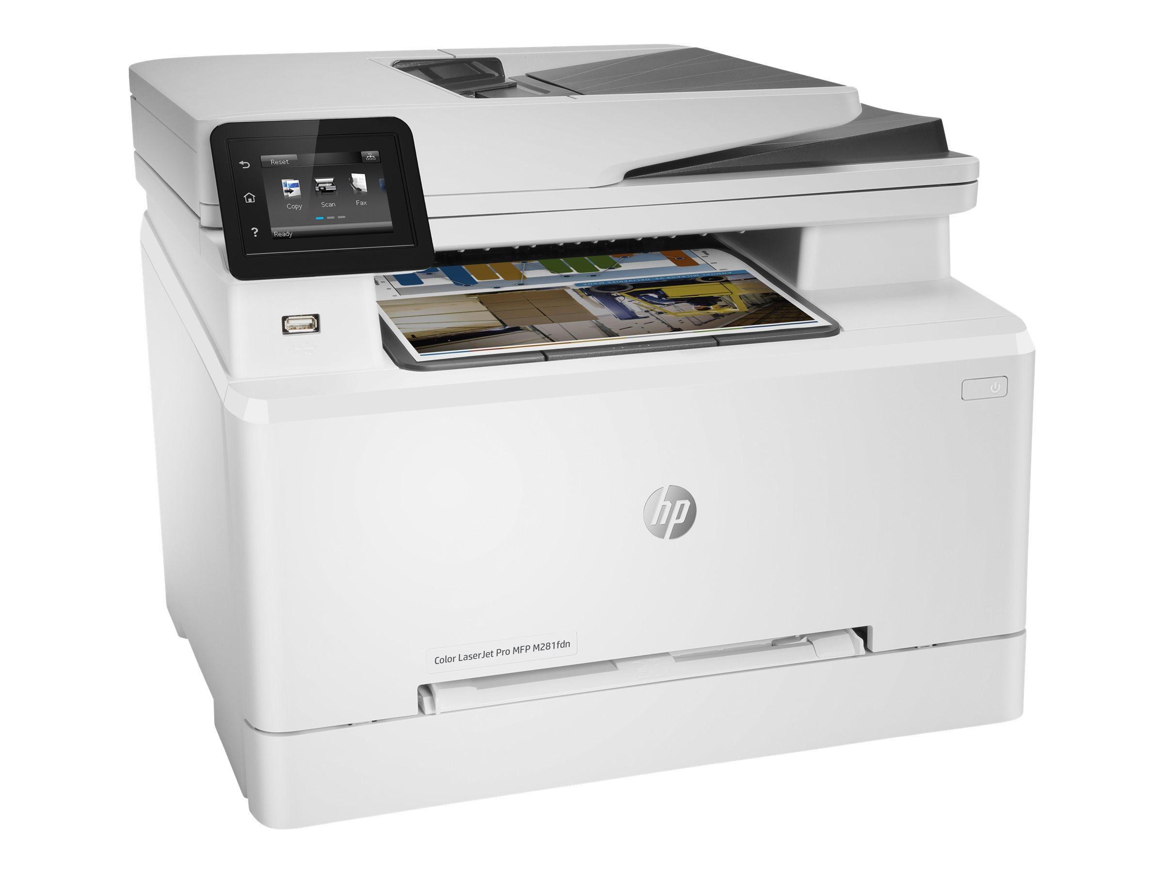 HP Color LaserJet Pro MFP M281fdn, Farblaser, MFP, A4