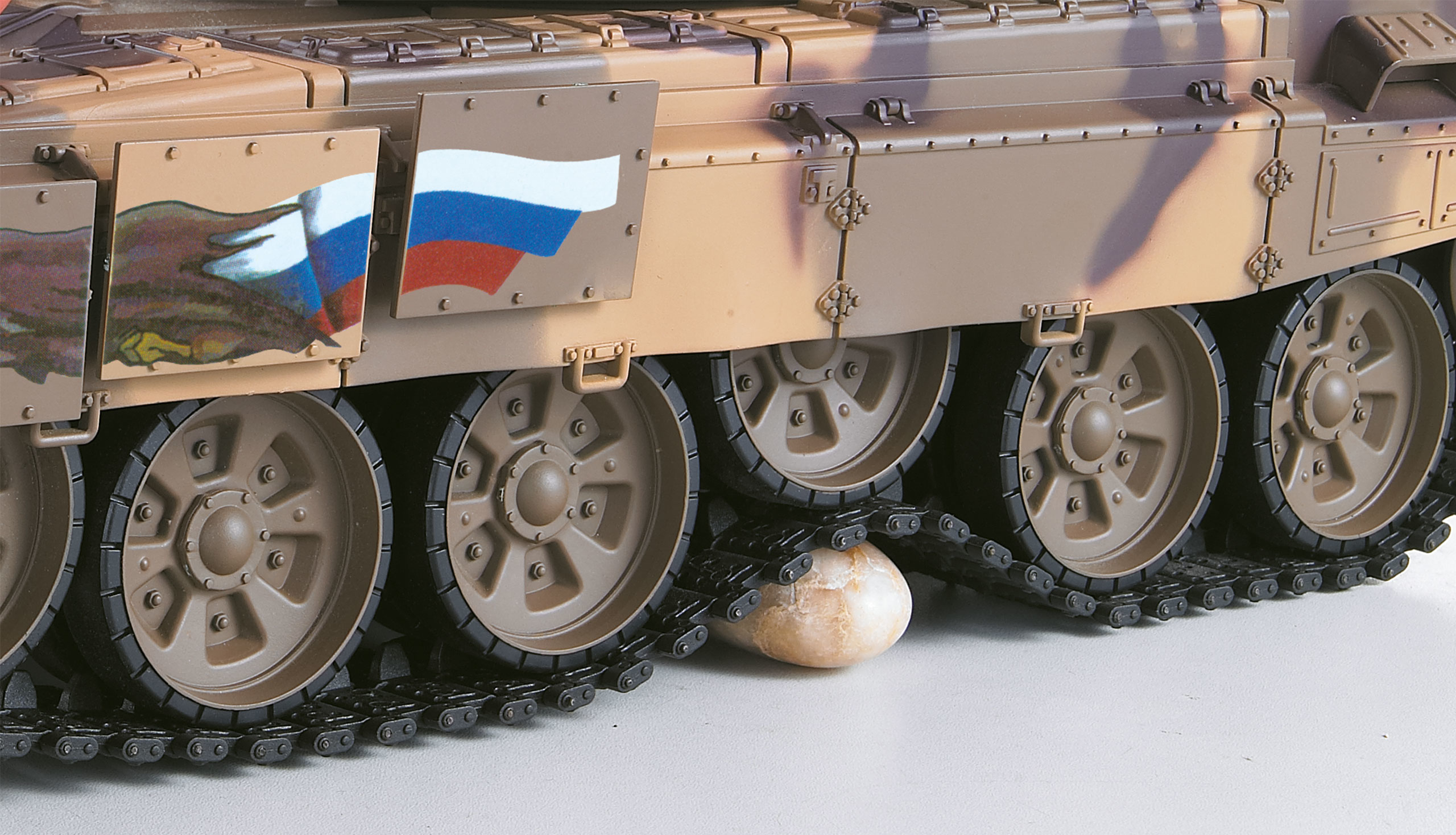 Amewi T-90 - Funkgesteuerter (RC) Panzer - Elektromotor - 1:16 - Betriebsbereit (RTR) - Junge - 14 Jahr(e)