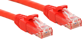Lindy Cat.6 UTP Premium Patchkabel halogenfrei rot - Kabel