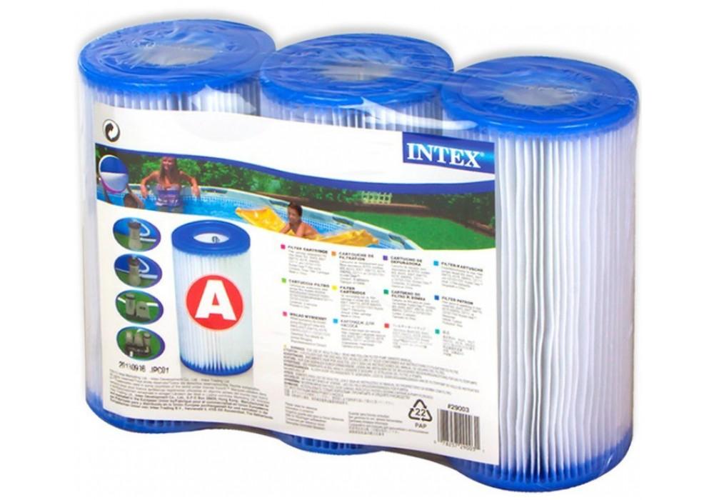 Intex Pool Filterkartusche Typ A 3er Pack