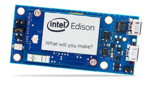 Intel Edison Breakout Board Kit 500MHz Intel® Atom Entwicklungsplatine