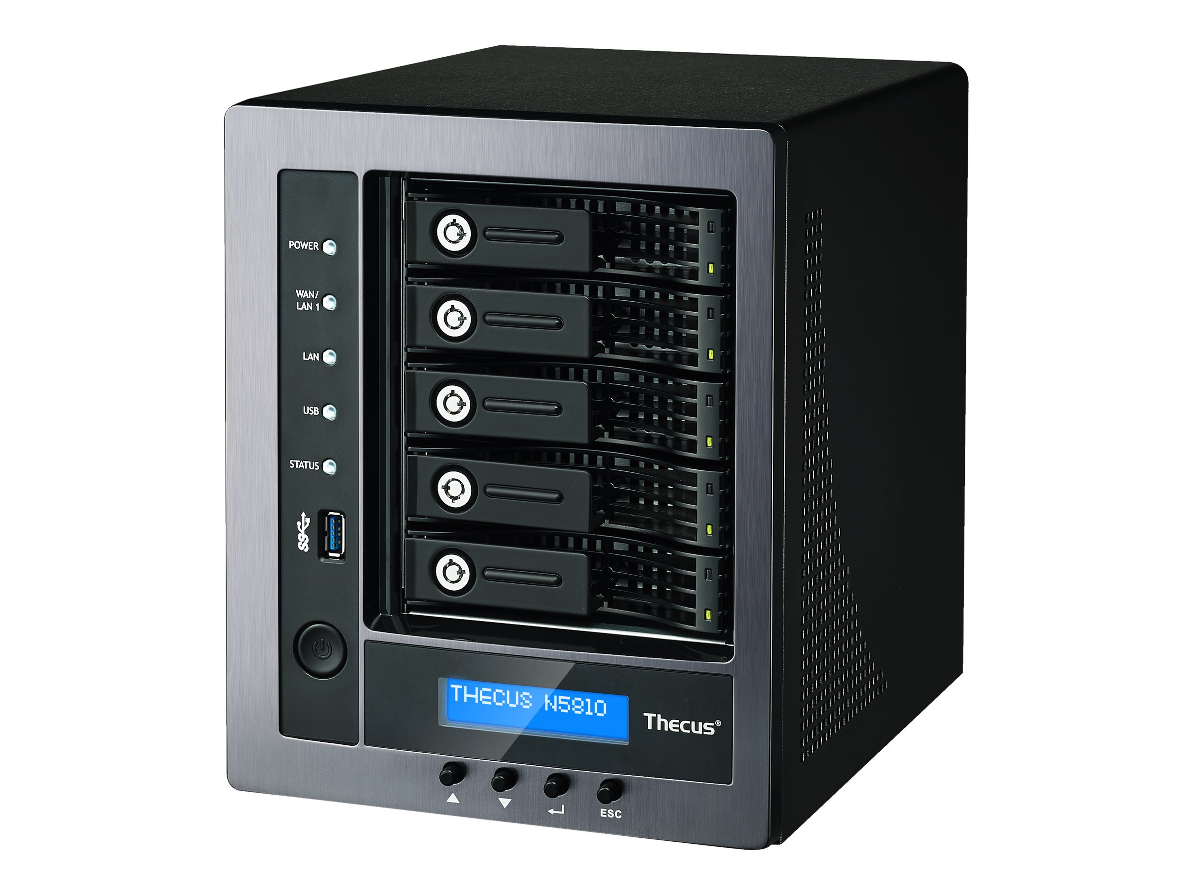 Thecus Technology N5810PRO - NAS-Server